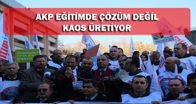 TORBA YASAYI PROTESTO ETTİK!