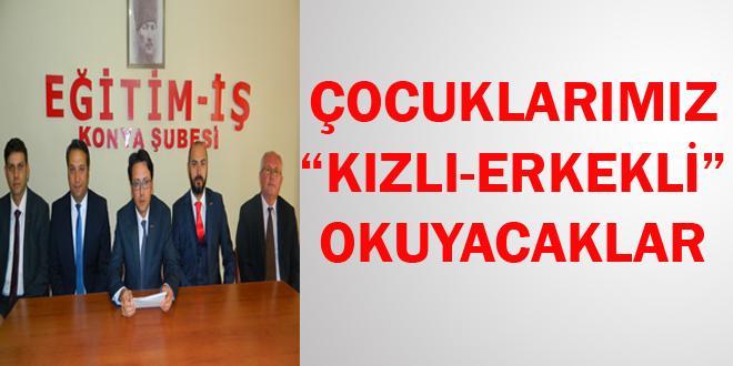 """ÇOCUKLARIMIZ """"KIZLI-ERKEKLİ"""" OKUYACAKLAR"""