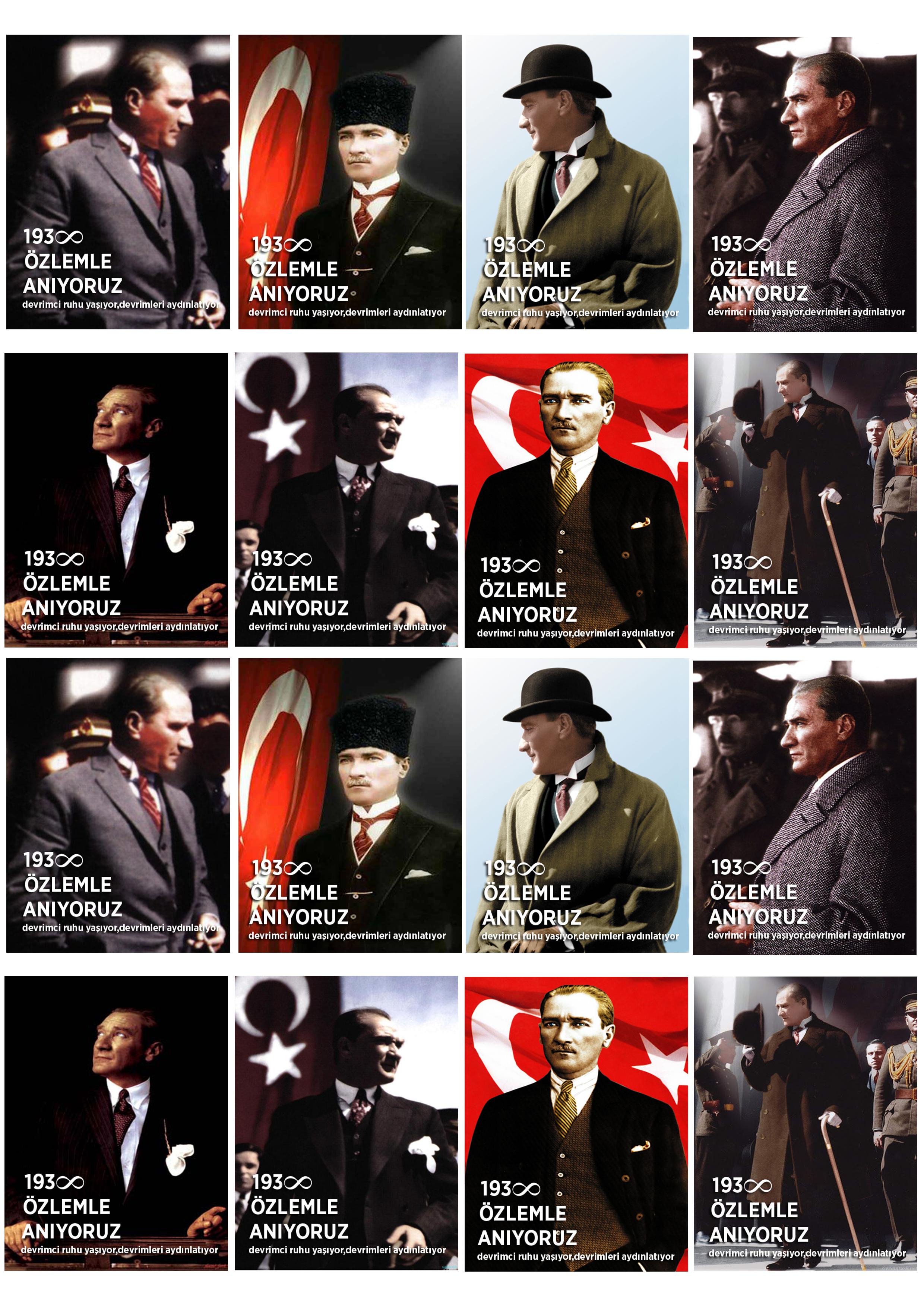 10 Kasım Atatürk'ü Anma Törenleri