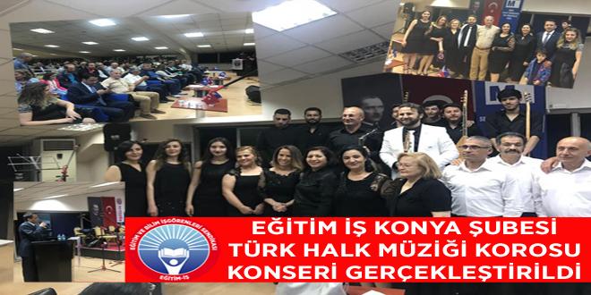 Şubemiz Türk Halk Müziği Korosu Konserini Gerçekleştirdi