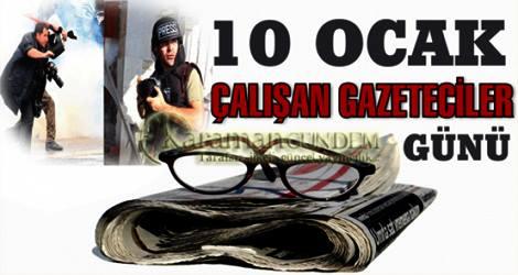 GAZETECİLERİN ÜZERİNDEKİ  BASKI KABUL EDİLEMEZ!