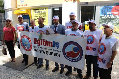 ZAMLARI PROTESTO ETTİK